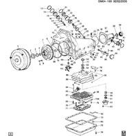 1982-1991 GM Automatic Transmission Valve Body Gaskets 2pcs New 8642993 8642974