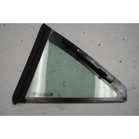 2004-2009 Cadillac XLR Rear Right RH Quarter Glass Window Used 88956603
