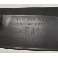 2004-08 Cadillac XLR Rear Right Upper Folding Top Trim Panel Black Used 88957031