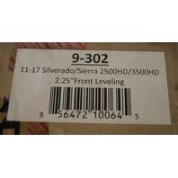 """2011-19 Sierra Silverado 2500 3500HD Rugged Offroad Leveling Kit 2.25"""" New 9-302"""