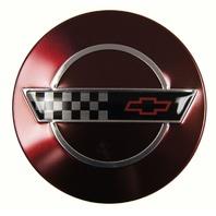 1993 Chevy Corvette C4 40th Anniversary Edition Wheel Center Cap New Red