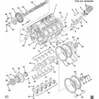 1999-2015 GM Main Bearing Cap Dowel Pins New OEM Qty 10 94032654 97721936