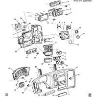 2003-2009 Topkick/Kodiak C4500-C8500 Brake Traction Control Switch New 94667398