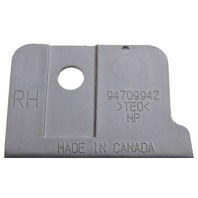 2009-2010 Hummer H3T RH Dark Gray Plastic Bed Cap New OEM 94716347 94709942