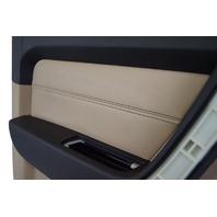 2009-2010 Hummer H3T Ebony & Cashmere LH Rear Door Panel New OEM 94723401