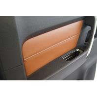2009-2010 Hummer H3T Left Rear Door Panel Ebony Morocco New OEM 94723403