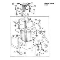 1985-1988 Chevy/Geo Nova Prizm A/C Low Pressure Switch New OEM 94841723