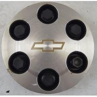 2004-2007 Silverado Suburban Wheel Center Cap Set 4pcs Silver Used 9594520