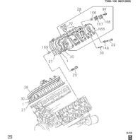 2004-2016 GM Trucks/Vans Valve Cover Gasket New OEM 97321295