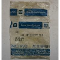 1942-1975 GM Door Hinge Bushings New 4pcs OEM 9822198 09822198
