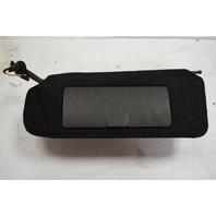1997-2004 Chevy Corvette C5 Left LH Driver Sunvisor Used Black Cracked Mirror