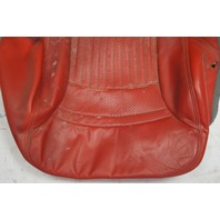 1997-2004 Chevy Corvette C5 Sport Driver Side Lower Seat Cover Red Used
