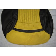 1997-2004 Chevy Corvette C5 Sport Driver Side Lower Seat Cover Yellow & Black Used