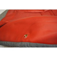1997-2004 Chevy Corvette C5 Sport Passenger Side Lower Seat Cover Red Used