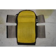 1997-04 Corvette C5 Sport Driver Side Upper Inner Seat Cover Yellow & Black Used