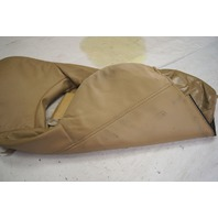 1997-2004 Chevy Corvette C5 Sport Driver Side Upper Outer Seat Cover Tan Used