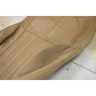 1997-2004 Chevy Corvette C5 Non-Sport Passenger Side Upper Seat Cover Tan Used
