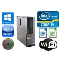 Dell OPTIPLEX 7010 SFF i3/i5 DUAL/QUAD CORE 4/8GB RAM 250GB HD USB 3.0 WIN 10