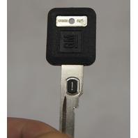 GM Key Ignition & Door Uncut W/Transponder #1 402ohm Resistance Square Head New
