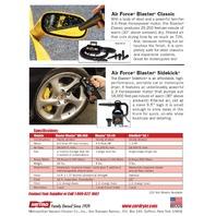 MetroVac Blaster SideKick 220V SK-1 Automotive Compact Portable Bike Dryer