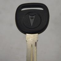 Pontiac Ignition & Door Key New OEM Uncut W/Pontiac Logo No Transponder