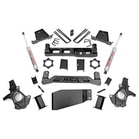"2007-2016 Silverado Sierra 1500 4wd Rough Country 7.5"" Lift Kit New Open Box"
