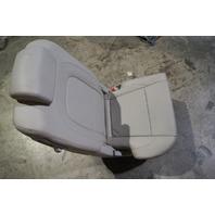 2007-2012 Hyundai Veracruz Rear Right Seat Gray Leather Used OEM