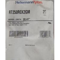"HellermannTyton Heavy Duty Cable Clamp Length-20.47"" Max Diameter-5"" RT250R0X2GM"