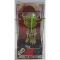 "Star Wars Yoda Bobble-Head 6"" Funko Wacky Wobbler New 2007 Lucasfilm"